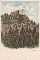 AK Gruss Aus Dem Riesengebirge - Kynast - Chojnik - Reliefdruck - 1907  (54379) - Polonia