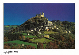 12 Najac Le Faubourg De La Pause (Carte Vierge) - Najac