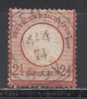 1872 Michel Nº 21 - Oblitérés