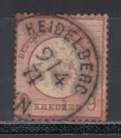 1872 Michel Nº 21 - Usati