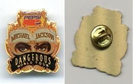 Pin's Michael Jackson / Dangerous 1992 / Publicité Pepsi - Musique