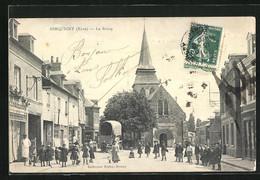 CPA Serquigny, Le Bourg - Serquigny