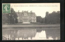 CPA Bémécourt, Château De Souvilly Et La Pièce D`Eau - Unclassified