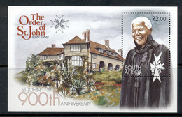 South Africa 1999 Order Of St John, Mandela MS MUH - Ongebruikt