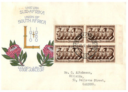 (II [ii] 14) South West Africa Union FDC (1 Cover) 1960 - Autres