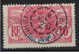 COTE D'IVOIRE         N°  YVERT  :  25  OBLITERE       ( Ob   9 / 48  ) - Gebraucht