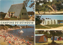 "CPSM FRANCE 29 ""Clohars Carnoet, Camping Du Quinquis"" - Clohars-Carnoët"