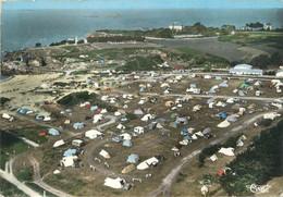 """CPSM FRANCE 35 """"Dinard Saint Enogat, Le Camping De Port Blanc"""" - Dinard"""