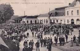 """ROANNE """" La Gare 2 E Jour De Mobilisation """"      N°9232 - Roanne"""