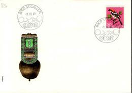 Suisse Poste Obl Yv: 826 Yv:0,2 Euro Pro Juventute Pie-grièche (TB Cachet à Date) Olma 9-10-69 - Cartas