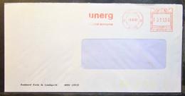 Belgium - Advertising Meter Franking Cover EMA 1983 Liege Unerg - 1980-99