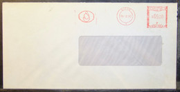 Belgium - Advertising Meter Franking Cover EMA 1980 Liege Delen Bank - 1980-99