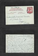 Belgian Congo. 1948 (4 Febr) Balaka, Kikwit (18 Feb) - Switzerland, Morges. 2fr Red Stat Env. VF. Rare Origin + Usage. - Sin Clasificación