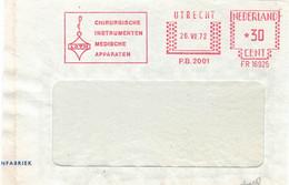 AFS Utrecht Francotyp 16925 1972 Loth Lot Chirurgische Instrumente Medizinische Apparate 1972 - Briefe U. Dokumente