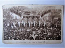BELGIQUE - FLANDRE OCCIDENTALE - OSTENDE - Loterie Coloniale - Un Tirage Au Kursaal - 1938 - Oostende