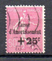 J1-2 France Oblitéré N° 254 à 5 % De La Côte !!! - Caisse D'Amortissement