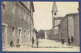 CPA HERAULT (34) - SAINT-BAUZILLE-DE-MONTMEL - VUE DU CENTRE - Otros Municipios