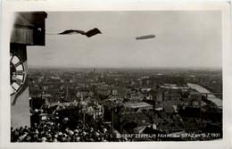 Graf Zeppelin Fahrt über Graz 1931 - Graz