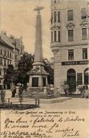 Krieger Denkmal Am Joanneumring - Enthüllung 1902 - Graz - Graz