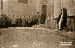 Graz - Kranzniederlegung Beim Kriegerdenkmal - Graz