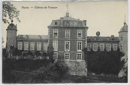 XHORIS : Château De Fanson - 1921 - Ferrieres