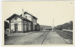 GREZ-DOICEAU : La Gare De Gastuche - Belle Animation, Locomotive à Vapeur - Grez-Doiceau