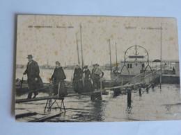 INDRET - Les Inondations - Février 1904  Le Débarcadére  A2074 - Altri Comuni