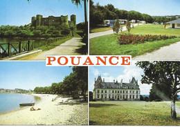49 Pouance Chateau Camping  Aspect Divers Caravanes Voiture - Other Municipalities