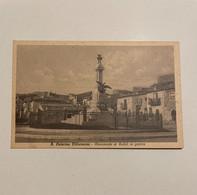 S. CATERINA VILLARMOSA-MONUMENTO AI CADUTI IN GUERRA - Caltanissetta
