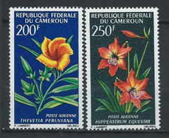 Cameroun YT PA 99-100 Neuf Sans Charnière - XX - MNH Fleur Flower - Cameroon (1960-...)