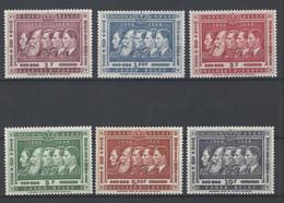 Nr 344-49 ** - 1947-60: Mint/hinged