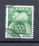 J1-3 France Taxe Oblitéré N° 89 ** à 5 % De La Côte !!! - 1859-1955.. Ungebraucht