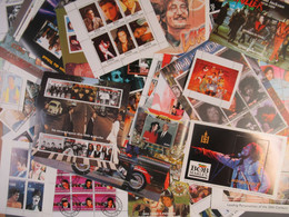 Persönlichkeiten Stars - 95 V. Blöcke Mit Elvis, Beatles, Jackson,-Personalities  Stars - 95 Dif Blocks - Musica