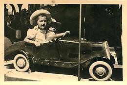 130221A - PHOTO - JEUX JOUET ANCIEN Voiture à Pédale Enfant Bebe Manege Fillettes - Giocattoli Antichi