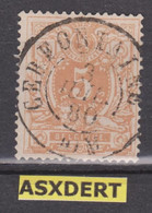 N° 28 DC. Cerfontaine 1880 / Coba15 - 1869-1883 Leopold II