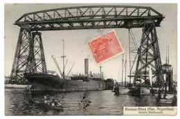 Buenos Aires.Argentine.puente Avellaneda.Transbordador.pont Transbordeur. - Argentine