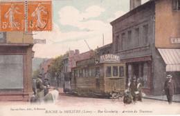 ROCHE LA MOLIERE           RUE GAMBETTA. ARRIVEE DU TRAMWAY - Other Municipalities