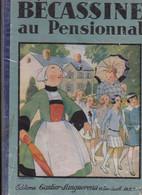 """1929  Album E.O. """" Bécassine Au Pensionnat """"   Texte Gaumery Illus. Pinchon  Gautier - Languereau - Bécassine"""