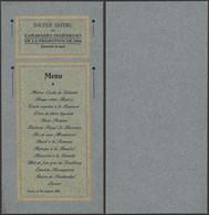 """Belgique - Petit Menu """"Souper Intime De La Promotion De 1904"""" (Gand, Ingénieur) - Menu"""