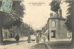 18 AUBIGNY VILLE - Route D'Argent - Aubigny Sur Nere