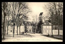 77 - EVRY-LE-CHATEAU - ENTREE DU CHATEAU ET EGLISE - Other Municipalities