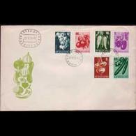 BULGARIA 1958 - Comm.Cover - 1020-5 Vegetables - Briefe U. Dokumente