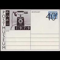 NETHERLANDS 1979 - Pre-stamped Card-Post Museum - Briefe U. Dokumente