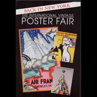 U.S.A. 2014 - Postcard-Vintage Poster Fair - Cartas