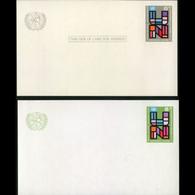 UN-NEW YORK 1965 - Card-UN Anniv. - Cartas