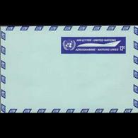 UN-NEW YORK 1968 - Aerogramme-Plane 13c - Cartas