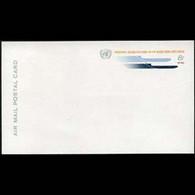UN-NEW YORK 1969 - Card-Stylized Plane - Cartas