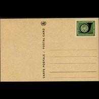 UN-GENEVA 1969 - Card-Horn 20c - Cartas