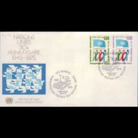UN-GENEVA 1975 - FDC - 50-1 UN 30th - Cartas