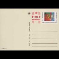 UN-GENEVA 1985 - Pre-stamped Cards-UN Emblem - Cartas